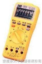 TES-2804真均方根值/資料記憶儲存數位電表