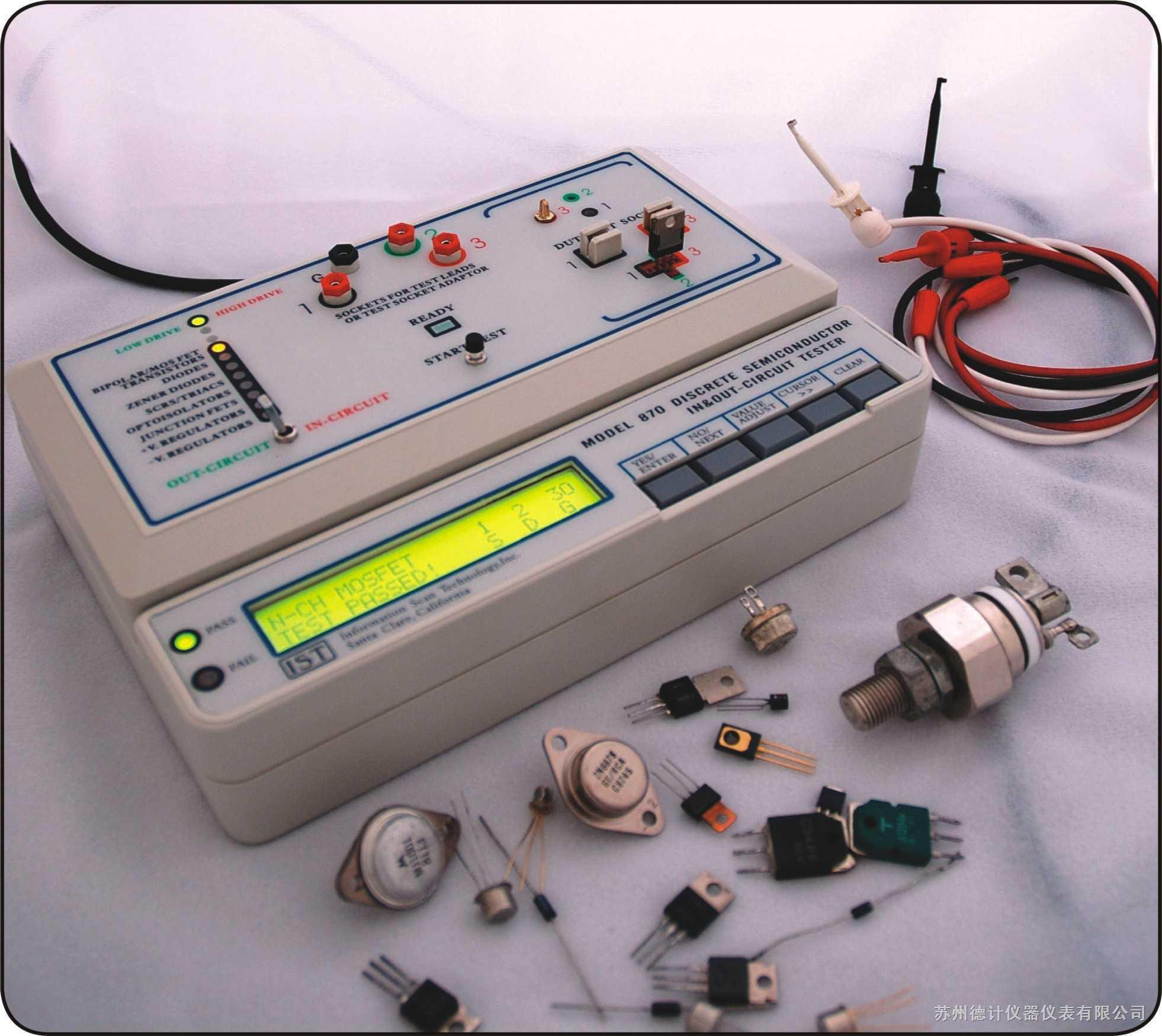 苏州德计仪器仪表有限公司 集成电路测试仪 > ist870半导体分立器件