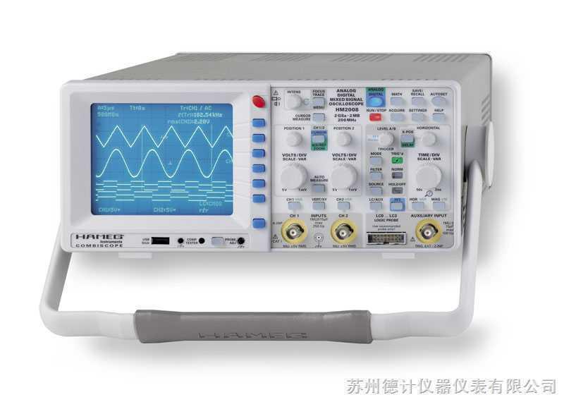 模拟示波器hm1508-2-苏州德计仪器仪表有限公司