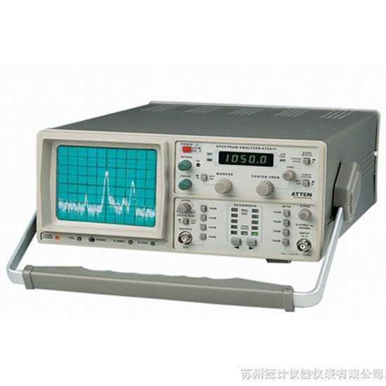 扫频式频谱分析仪