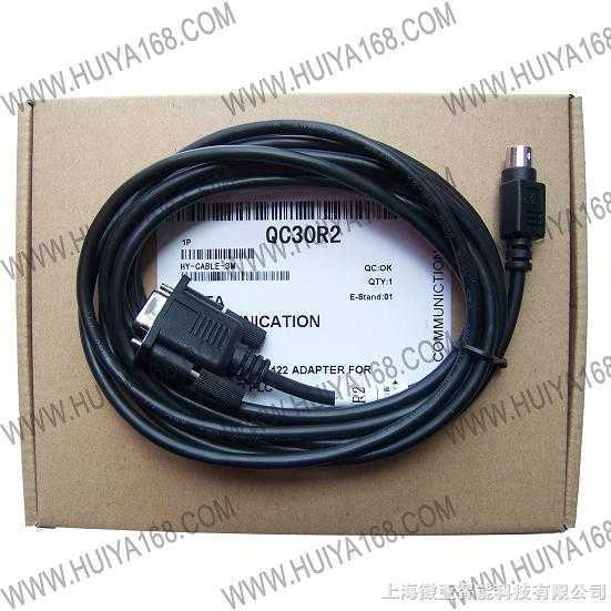 qc30r2-q系列的plc到a970got人机介面连接电缆