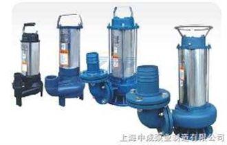 WQX(D)型不鏽鋼汙水汙物潛水電泵