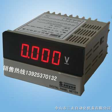 简易数字直流电压表的设计-简易数字电压表的设计