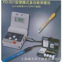 PD501便携式多功能测量仪(pH/电导率/mV(ORP)/温度)