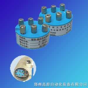 温度变送器模块可以安装于热电温,热电阻的接线盒内与之形成一体化