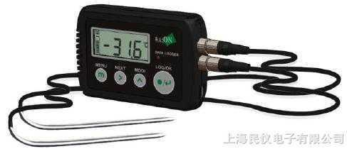 两点中心温度记录仪