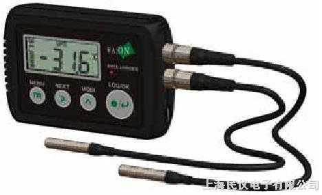 高温型电子双温度记录仪