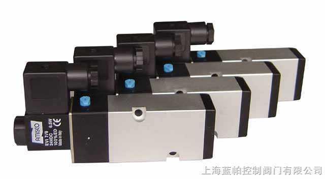 上海蓝帕供应电磁换向阀,二位五通电磁阀,二位三通电磁阀图片