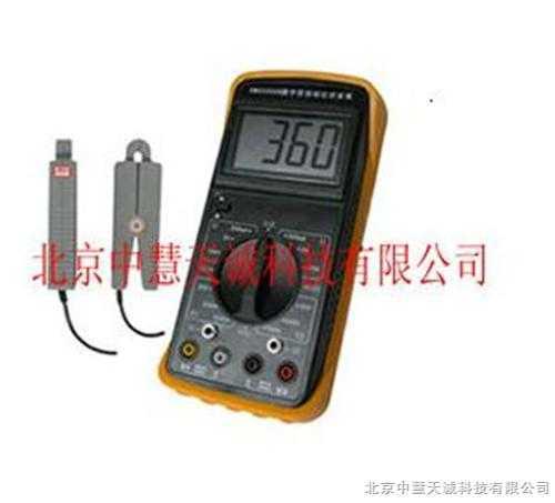 便携式数字双钳相位伏安表 型号:HY/SMG2000B