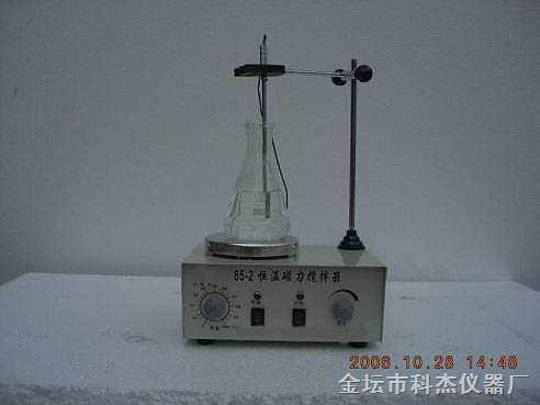 电子恒温磁力加热搅拌器