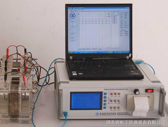 新标准混凝土氯离子电通量测定仪SDL