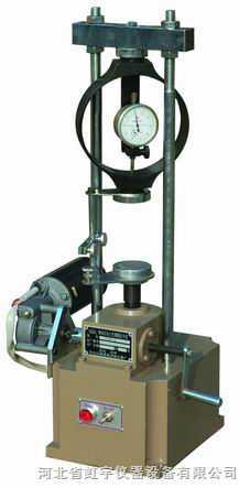 新标准石灰土无侧限压力仪YYW-1