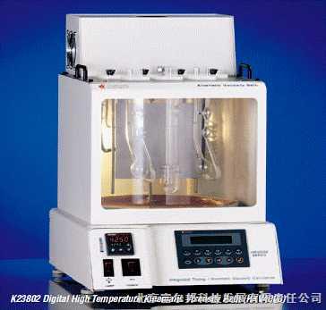 Koehler--HKV3000和HKV4000集成数字计时装置的高温粘度仪