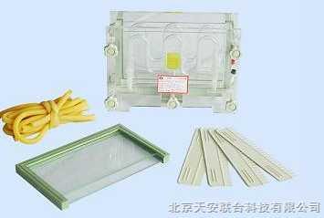 单板夹心式垂直电泳仪(槽)