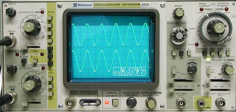 二手模拟示波器 vp-5520b