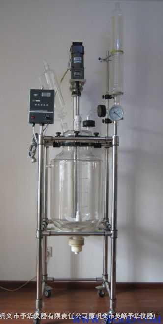 50L防爆双层玻璃反应釜的专业生产厂家请到巩义予华!