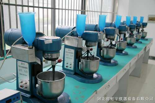 胶砂搅拌机推荐生产厂家优秀供应商