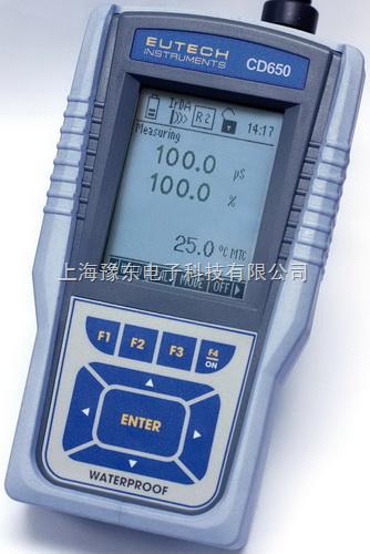 Eutech优特 CyberScan PCD 650便携式多参数水质分析仪