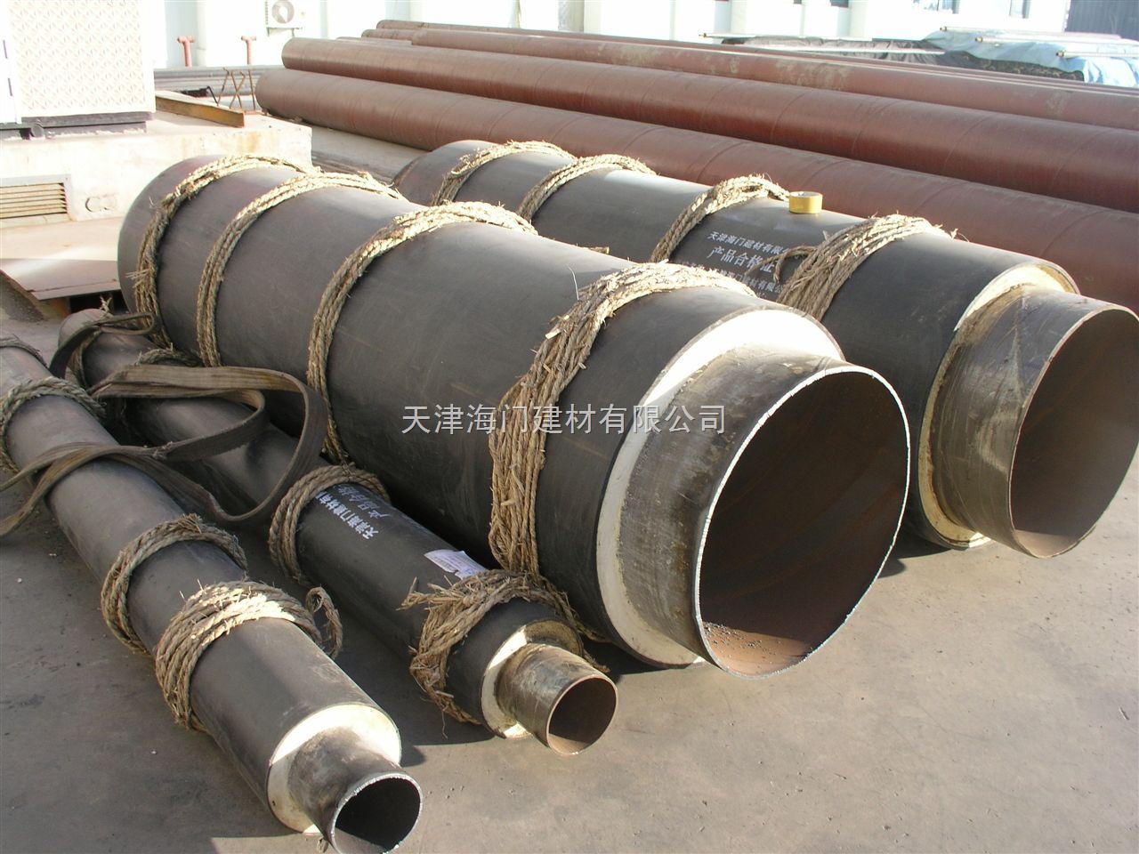 钢套钢蒸汽保温管,蒸汽直埋保温管厂家,天津钢套钢保温管价格