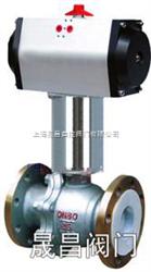 GW-ZGJQ上海-气动高温球阀-气动球阀