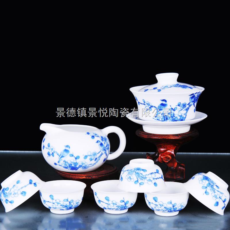 手绘陶瓷茶具报价