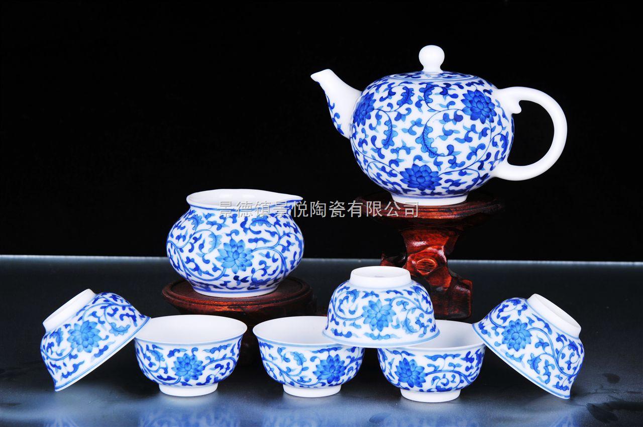 景德镇手绘陶瓷茶具批发价格