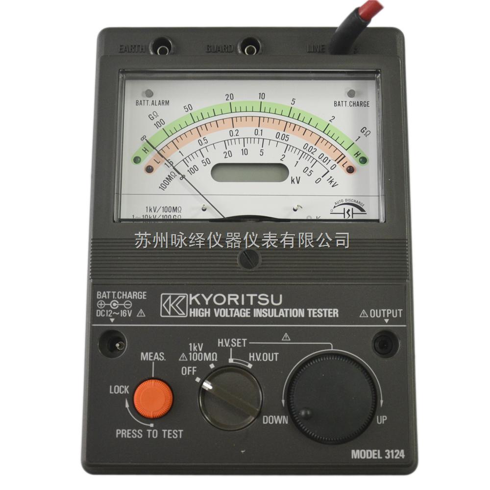model 3124绝缘电阻测试仪