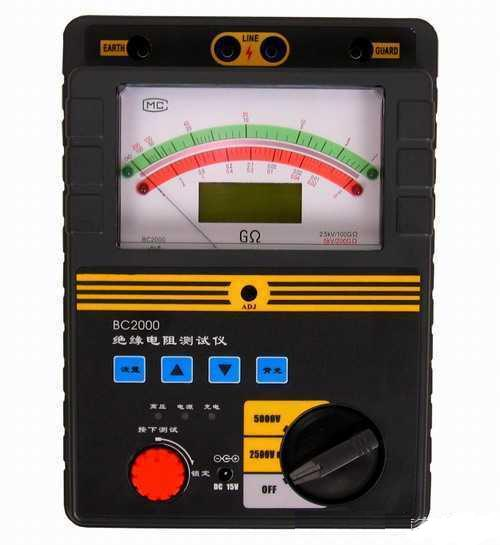 BC2000|BC2010智能双显绝缘电阻测试仪