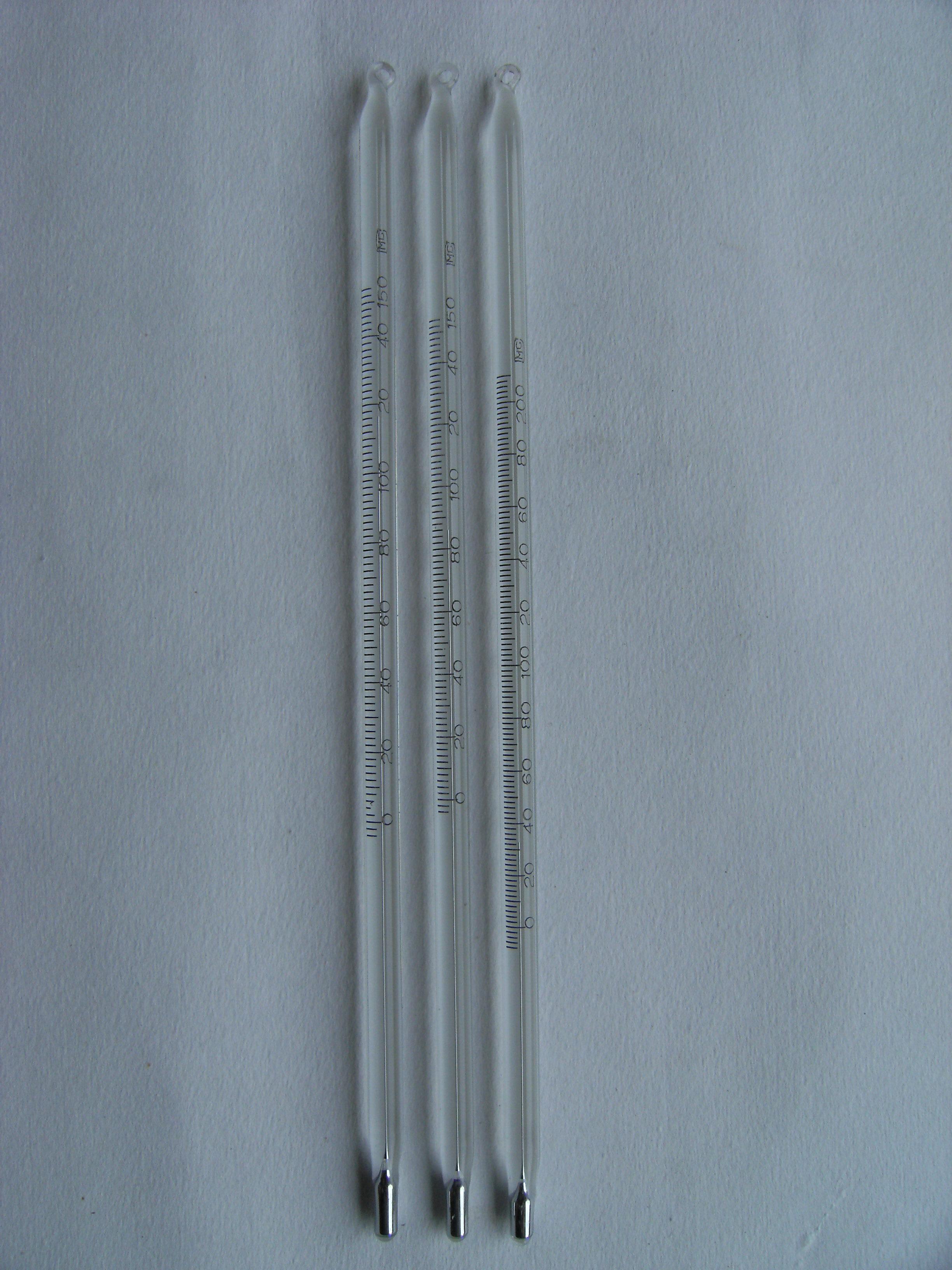 留点温度计是指水银柱指