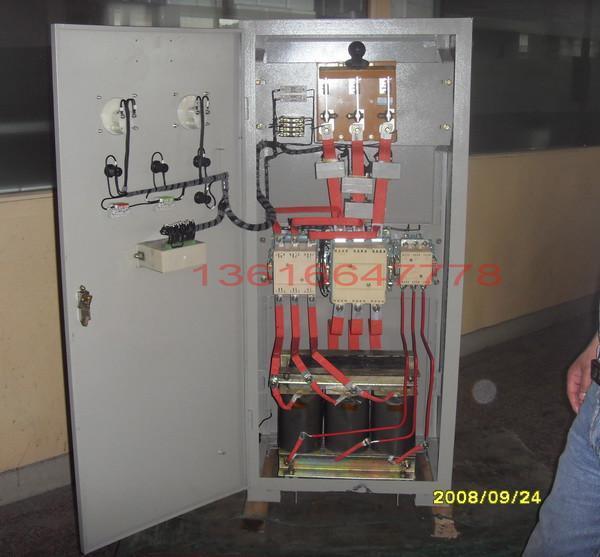 起动之用,利用自耦变压器降压的方法以改善当电动机