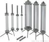 HY中高压玻璃制备色谱柱/中压特制玻璃层析柱