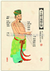 中医针灸挂图:手太阳小肠经图 仿古宣纸画芯