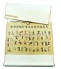 中医挂图|马王堆汉墓导引图复原图