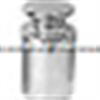 常规常用钢镀铬圆形砝码