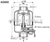 AD600系列SMC自动排水器,SMC排水器