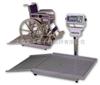 SG山东250kg凯士轮椅秤,医用轮椅秤
